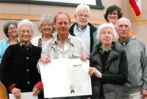 Supervisor's Gold Award, Sonoma Mountain Preservation Board