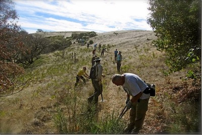 sonoma mountain volunteer work day